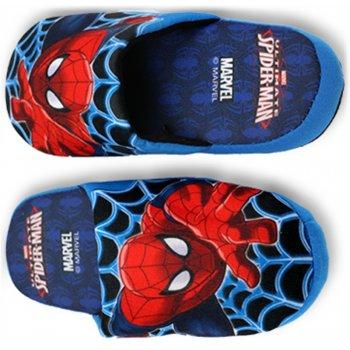 Chlapčenské papuče Spiderman - modré