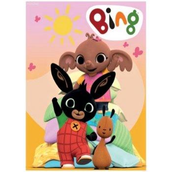 Detská fleecová deka Zajačik Bing Bunny
