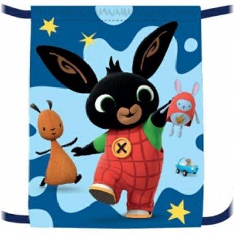 Vrecko na prezúvky Zajačik Bing Bunny - modrý