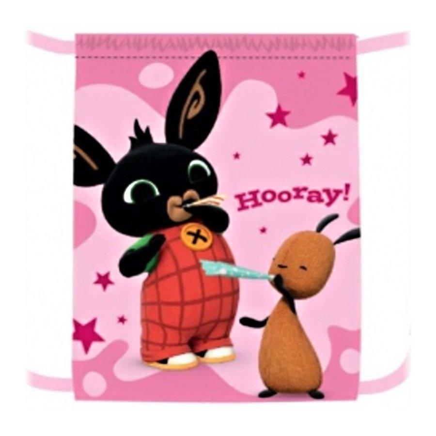Vrecko na prezúvky Zajačik Bing Bunny - ružové
