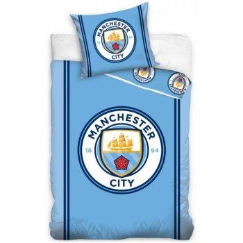 Bavlnené posteľné obliečky Manchester City FC