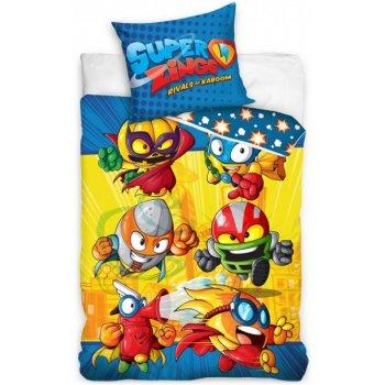 Detské posteľné obliečky SuperZings Rivals of Kaboom