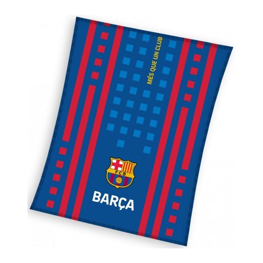 Futbalová fleecová deka FC Barcelona - Camino