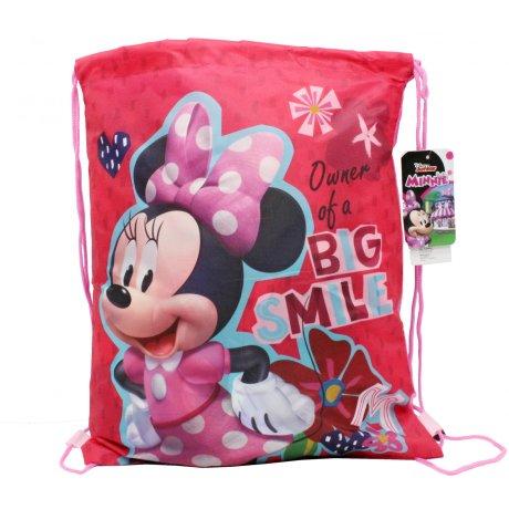 Vrecko na prezúvky Minnie Mouse - Big Smile