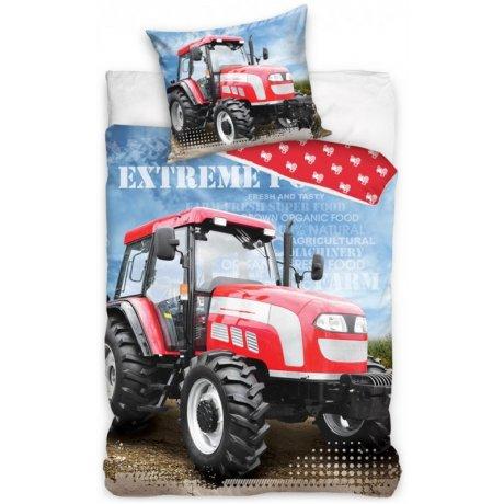 Bavlnené posteľné obliečky Traktor - Extreme Power