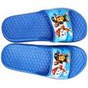 Chlapčenské gumové pantofle Tlapková patrola - sv. modré