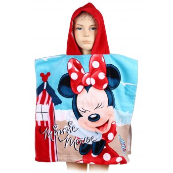 Pončo - osuška s kapucňou Minnie Mouse - Disney