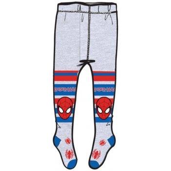Chlapčenské pančucháče Spiderman - šedé