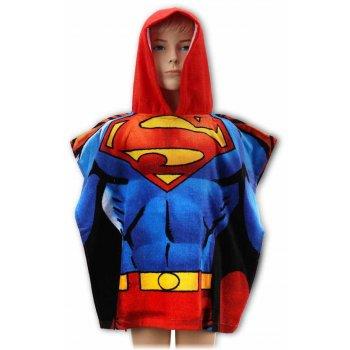 Pončo - osuška s kapucňou Superman