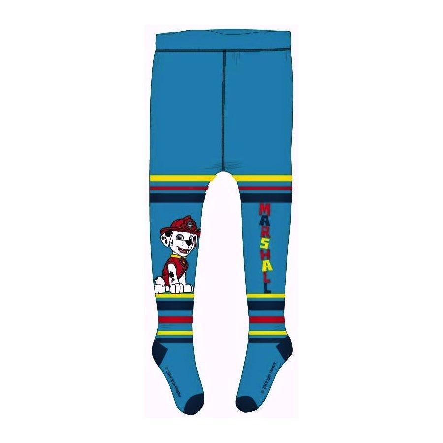 Chlapčenské pančucháče Paw Patrol - Marschall - modré