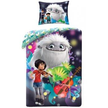 Detské bavlnené posteľné obliečky Snežný chlapec - Abominable