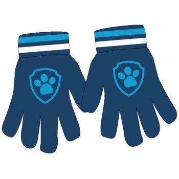 Chlapčenské pletené prstové rukavice Paw Patrol