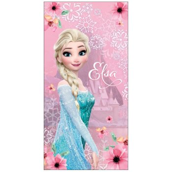 Plážová osuška Ľadové kráľovstvo - Frozen - Elsa