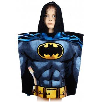 Pončo - osuška s kapucňou Batman