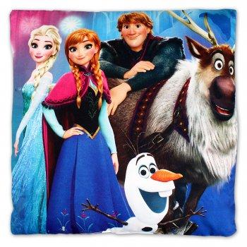 Vankúš Ľadové kráľovstvo - Anna, Elsa, Swen a Olaf
