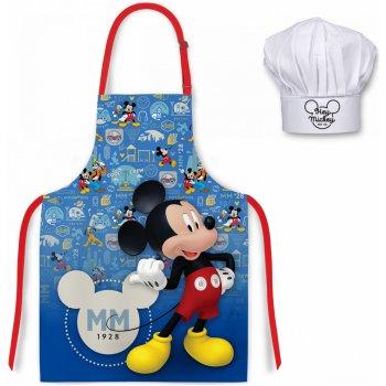 Detská zástera s kuchárskou čiapkou Mickey Mouse - Disney