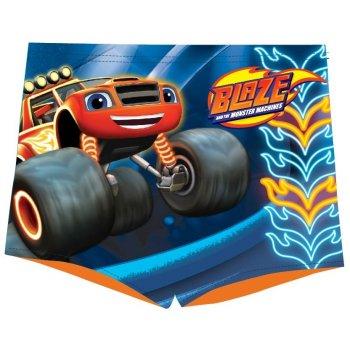 Chlapčenské plavky boxerky Monster Truck Plamienok - Blaze