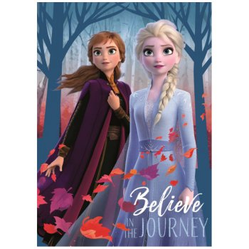 Fleecová deka Ľadové kráľovstvo 2 - Belive in The journey