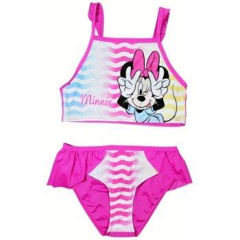 Dievčenské dvojdielne plavky Minnie Mouse - Disney - ružové
