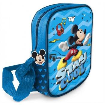 Taška cez rameno s 3D obrázkom Mickey Mouse - Disney