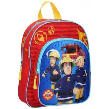 Detský batoh s predným vreckom Požiarnik Sam