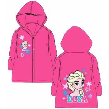 Detská pláštenka Ľadové kráľovstvo - Elsa - ružová