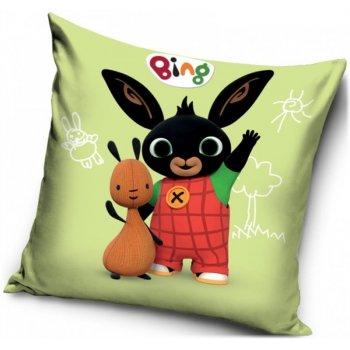 Detský vankúš Zajačik Bing a Flop v prírode