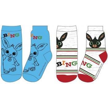 Chlapčenské ponožky Zajíček Bing (2 páry)