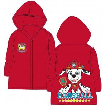 Detská pláštenka Paw Patrol - Marschall - červená