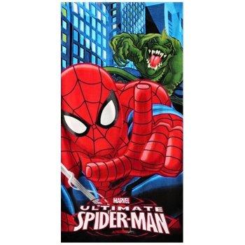 Bavlnená plážová osuška Spiderman a Lizard
