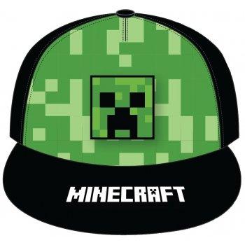 Hip Hop šiltovka s rovným šiltom Minecraft