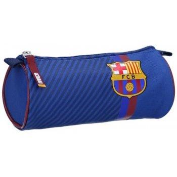 Guľaté puzdro na perá FC Barcelona - Barca