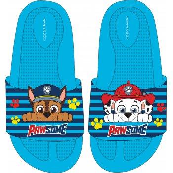 Chlapčenské gumové pantofle Paw Patrol - Chase a Marschall