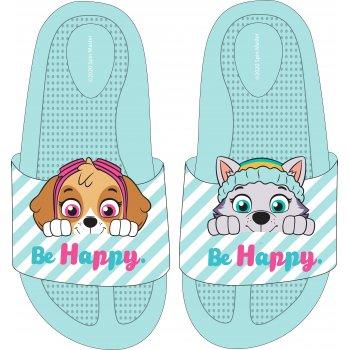 Dievčenské gumové pantofle Paw Patrol - Skye a Everest