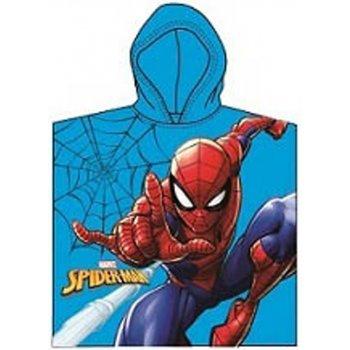 Detské pončo - plážová osuška s kapucňou Spiderman - MARVEL