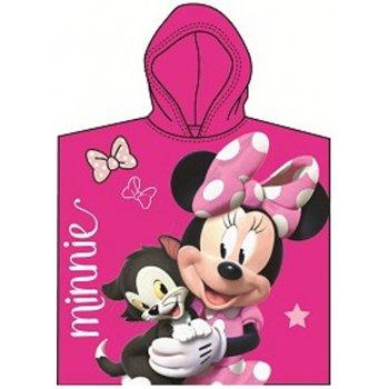 Detské pončo - plážová osuška s kapucňou Minnie Mouse - Disney