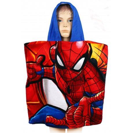 Pončo - osuška s kapucňou Spiderman