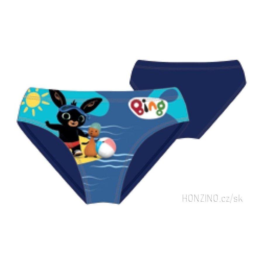 Chlapčenské slipové plavky Zajačik Bing Bunny - modré