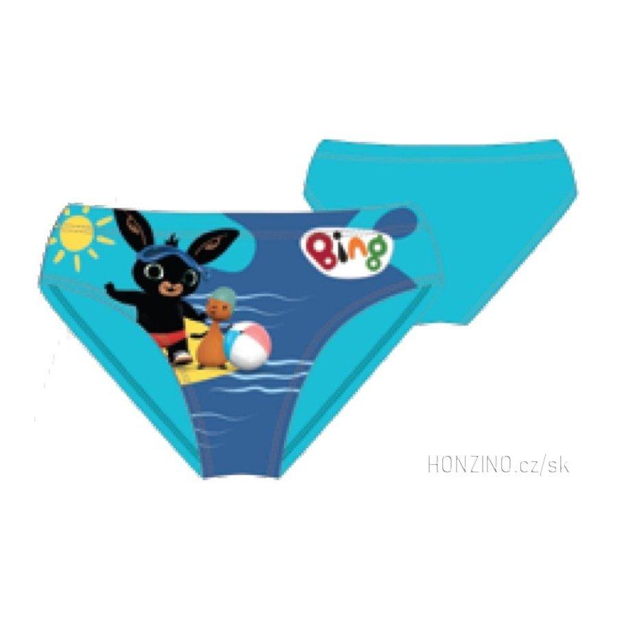 Chlapčenské slipové plavky Zajačik Bing Bunny - tyrkysové
