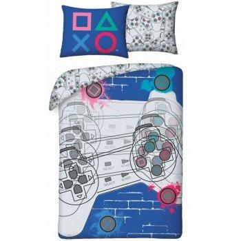Bavlnené posteľné obliečky PlayStation