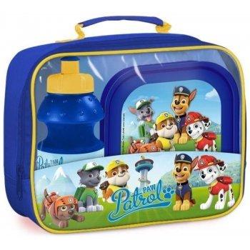 Piknikový set Paw Patrol - box na desiatu a fľaša na pitie v taške