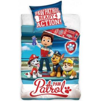 Bavlnené posteľné obliečky Paw Patrol - Ready 4 Action