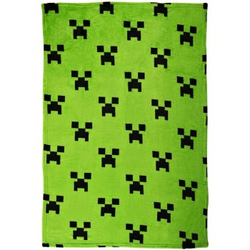 Fleecová deka Minecraft