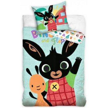 Detské posteľné obliečky Zajačik Bing a Flop