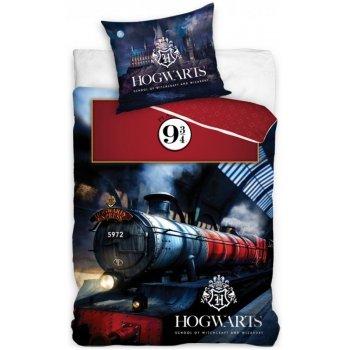 Bavlnené posteľné obliečky Harry Potter - Hogwarts Express