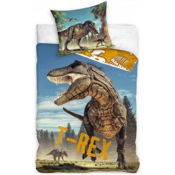 Bavlnené posteľné obliečky Tyranosaurus Rex