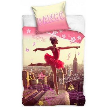Bavlnené posteľné obliečky Baletka v New Yorku