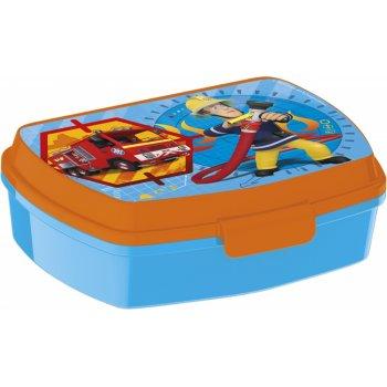 Box na desiatu pre chlapcov Požiarnik Sam