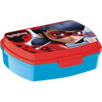 Box na desiatu Kúzelná lienka - Ladybug