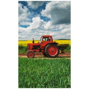 Detský uterák Červený traktorík
